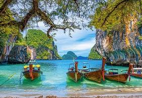 Красив залив в Тайланд -
