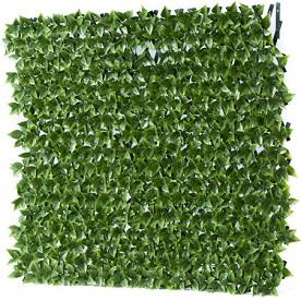 Декоративна ограда с изкуствени листа - Хармоника -