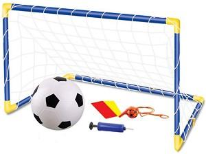 Футболна врата - Комплект с аксесоари -