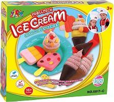 """Направи сам - Сладолед - Творчески комплект от серията """"Color Clay Series"""" -"""