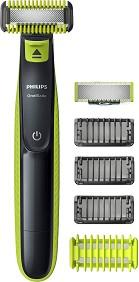 Philips OneBlade Face + Body QP2620/20 - Електрически тример за лице и тяло -