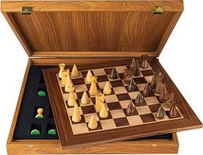 Шах - Луксозен дървен комплект -