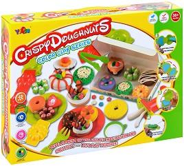 """Направи сам - Донъти - Творчески комплект от серията """"Color Clay Series"""" -"""