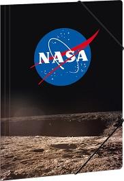 Папка с лстик - NASA - Формат A4 -