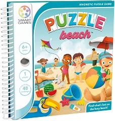 """Beach - Детска логическа игра с магнити от серията """"Magnetic Travel Games"""" -"""