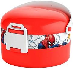 Кутия за храна - Спайдърмен - Комплект с прибор за хранене -