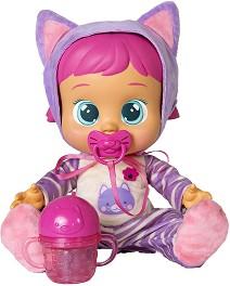 Cry Babies - Кейти - Плачеща кукла бебе с аксесоари -