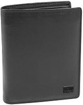 Вертикален мъжки портфейл - MANO Certo - С RFID защита -