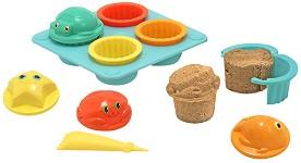 Мъфини - Комплект за игра с пясък -