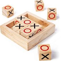 Мини морски шах - Дървен комплект за игра -
