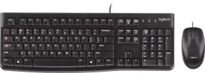 Клавиатура с оптична мишка с USB кабели - MK120 -