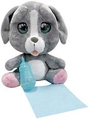 Cry Pets - Кученце - Плачеща плюшена играчка с аксесоари -