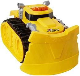 Супер мощен булдозер - Детска играчка със светлинни и звукови ефекти -