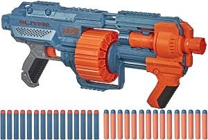"""Бластер - Elite 2.0 Shockwave RD-15 - Комплект с 15 меки стрелички от серията """"Nerf"""" -"""