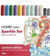 """Двувърхи маркери - Sparkle set - Комплект от 12 цвята от серията """"Ciao"""" -"""
