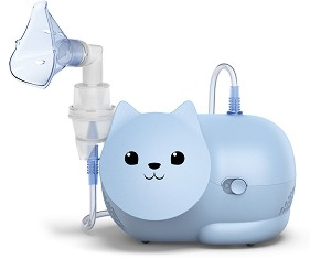 Детски компресорен инхалатор - Nami Cat - Модел NE-C303K-KDE -