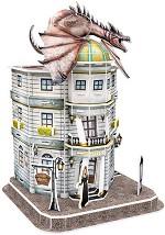 """Банката Гринготс - 3D пъзел от серията """"Хари Потър"""" -"""
