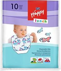 Лигавници за еднократна употреба - Happy Lunch - Комплект от 10 или 20 броя -