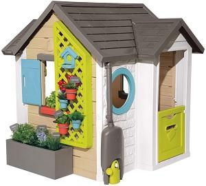 Сглобяема къща с кухня за игра - Garden House - В комплект с аксесоари -