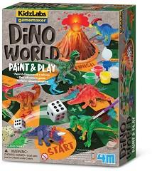 """Светът на динозаврите - Детска състезателна игра от серията """"Kidz Labs"""" -"""