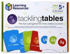 Уча се да умножавам и деля - Образователни карти за игра -