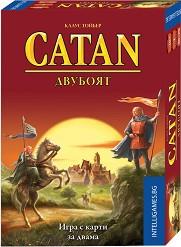 Катан - Двубоят - Базова игра с карти за двама -