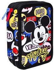 Несесер с ученически пособия - Jumper 3: Mickey Mouse - С 3 отделения -