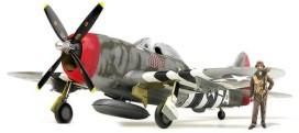 Изтребител - P-47D Thunderbolt Gabreski - Сглобяем авиомодел -