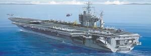Самолетоносач U.S.S. Roosevelt - Сглобяем модел -