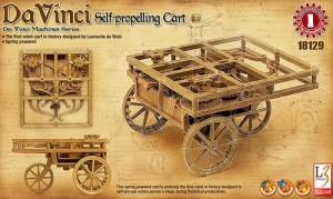 Da Vinci - Самоходна каруца - Сглобяем модел -