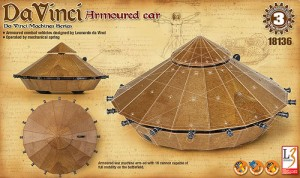 Da Vinci - Танк - Сглобяем модел -