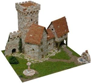 Medieval tower - Сглобяем модел от тухлички -