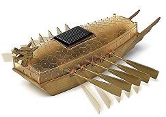 Solar Powered Turtle Ship - Сглобяем модел -