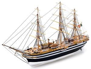 Барк - Amerigo Vespucci - Сглобяем модел от дърво -