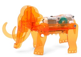 Механичен мамут - Сглобяем модел с мотор -