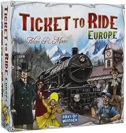 Ticket to Ride Europe - Стратегическа настолна игра -