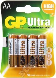 Батерия AA - Ултра алкална (LR6) - 4 броя -