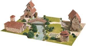 Rural Diorama - Сглобяем модел от тухлички -