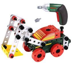 """Комплект конструктор с винтоверт и инструменти - Bosch - Играчки от серията """"Bosch mini"""" -"""
