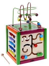 Цветен куб - Образователна играчка -