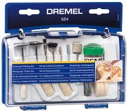 Накрайници за почистване и полиране - Комплект от 20 части - продукт