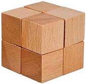 Box Eight Cubes - 3D дървен пъзел -