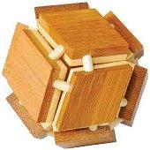 Магическа кутия - 3D пъзел от бамбук -