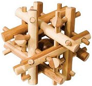 Магически пръчици - 3D пъзел от бамбук -