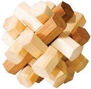 Double Knot - 3D пъзел от бамбук -