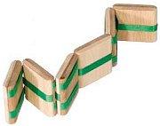 Гърмяща змия - Дървена играчка -