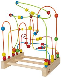Спирала лабиринт - Дървена играчка -