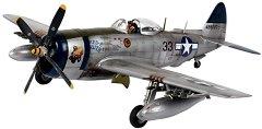 Военен самолет - Republic P-47N Thunderbolt - Сглобяем авиомодел - макет