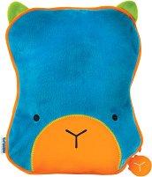 """Детска възглавница-одеяло - Blue - От серията """"Betsy SnooziHedz"""" - раница"""