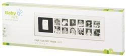 """Рамка за снимки и отпечатък - Първа годинка - Комплект от серия """"Modern Trendy"""" -"""